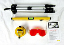 """Tool Shop 16"""" Laser Level Set with Laser Level Tripod Spirit Level and Goggles"""