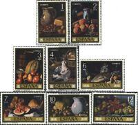 Spanien 2253-2260 (kompl.Ausg.) postfrisch 1976 Stilleben