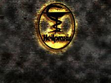 LED Wandbild Heilpraktiker Heilpraxis Schild Leuchtschild Firmenschild Deko