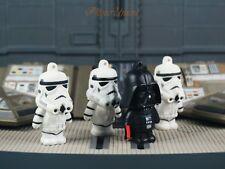 Star Wars Darth Vader Skywalker Anakin Stormtrooper Figure Cake Topper K1109DG3