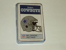 Lot 2 Ace NFL officiel fait Pack Dallas Cowboys