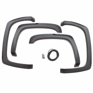 Lund SX109S SX-Sport Style Fender Flare 4 Pcs Smooth for 2007-2013 Sierra 1500