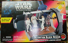 KENNER 1996 - STAR WARS THE POWER OF THE FORCE - DETENTION BLOCK RESCUE boxed
