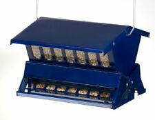 Electric Blue Woodlink Absolute II Squirrel Resistant Bird Feeder Model 7537