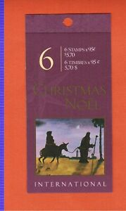 2000  CANADA BOOKLET STAMPS BK235 # 1875  CHRISTMAS NATIVITY   OC20
