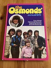 More details for the osmunds annual 1975 hardback world distributors seventies pop