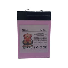 Charity Battery CB650 6V 5Ah Replacement for NEATA XK06-044-00885
