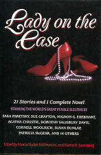 Lady on the Case-Mystery Anthology-1988-Sue Grafton, Woolrich, Boucher, Christie