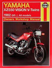 0821 Haynes Yamaha XZ550 Vision V-GEMELOS (1982 - 1985) Manual de taller