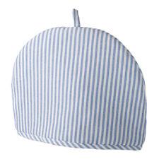 Stow Green Horizon Tea Cosy Blue White Stripes Teapot Holder Warmer Sleeve