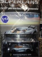 KOENIGSEGG REGERA - 2016 - SUPERCARS GT COLLECTION 1:43 #26 - DIE CAST