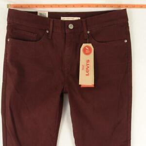 NEW Womens Levi's 311 SHAPING SKINNY Slim Purple Jeans W31 L34 Size 12 BNWT