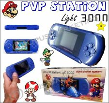"CONSOLE PORTATILE PVP LIGHT 3000 LCD 2.8"" RETROILLUMINATO GAMEPAD VIDEO GAME"