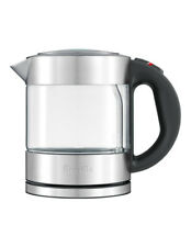 Breville the Compact Kettle 1L Cordless Electric Kettle - Clear