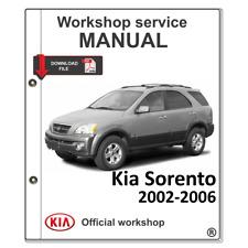 KIA Sorento 2002-2006 Manual de Taller de Servicio Manual Reparación, Diagrama