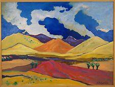 Judith D'Agostino (American 1949-2016) Original Oil Painting Landscape