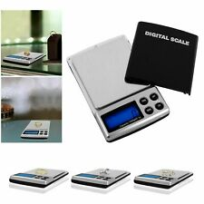 Mini Digital Pocket Scale 1000g x 0.1g Jewelry Gold Silver Coin Grain Gram Herb