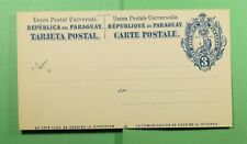 DR WHO PARAGUAY UNUSED POSTAL CARD  f48874