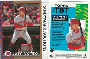Joey Votto REDS TOPPS 2018 THROWBACK 1993 JURASSIC PARK TBT 115 SP 516