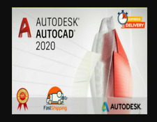 NEW Autodesk AutoCAD 2020 ✅ full version ✅ WINDOWS ✅ Fast delivery ✅