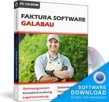 Gala-Bau Software,Rechnungsprogramm für Gartenbau-Betriebe,Landschaftsbauer EDV