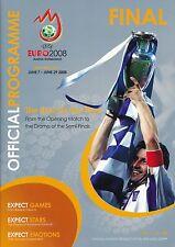 Euro 2008 Final: Alemania contra España-Spanish language Ed