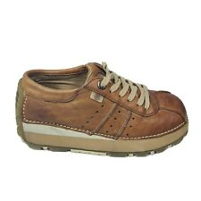 REPORT Dugout ll 90's Chunky Brown Leather Sneakers Women's Shoe Size 6 EUC