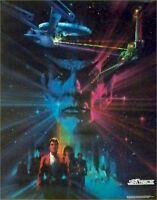 STAR TREK III ~ SEARCH FOR SPOCK ~ 22x28 VINTAGE MOVIE POSTER  BOB PEAK ART
