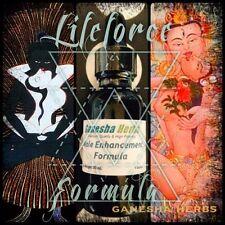 "POWERFUL ""LIFE FORCE"" NATURAL MALE ENHANCEMENT FORMULA LIQUID TINCTURE 1oz."