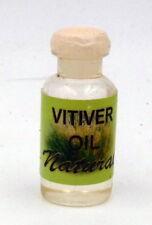 Huile essentielle Vétiver 100 % pure et naturelle massage bain aromathérapie