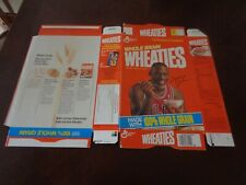 1990 Michael Jordan UNUSED Wheaties Flat - Chicago Bulls - NBA - EX