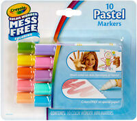Crayola Color Wonder Markers Mess Free Coloring Classic Colors Pack Of 10 Count