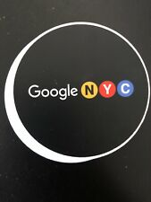 Google Sticker NYC Collectible Google NYC Sticker