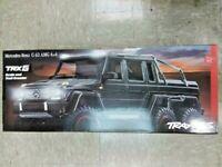 Traxxas 88096-4 TRX-6 1/10 6x6 Trail Crawler Mercedes-Benz G 63 AMG Black New!!