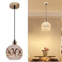 Modern ceiling Pendant light shade pendant lampshade chandelier crystal light UK