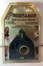 Vtg ALL PRO Weight-A-Band Resistance Fitness Trainer Sports Full Body Workout