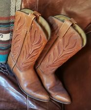 Vintage ladies cowboy boots Acme.made in usa
