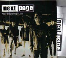 Next Page-New Beginning Promo cd single