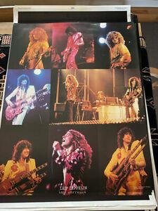 Led Zepplin Robert Plant Original 1973 Vintage Poster 22 x 34
