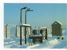 Railway, Mail Exchange Apparatus in Winter, Didcot Railway Old Postcard, A480