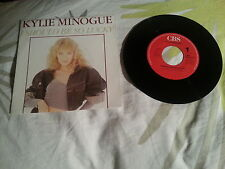 45T / KYLIE MINOGUE / I SHOULD BE SO LUCKY