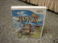 SPRay  (Wii, 2008) NEW