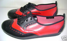 NEW Bleyer Swing Lindy Anna Dance Shoes Red/Black Wom10
