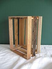 Barnwood Barn wood crate rustic apple decorative box K&D CobbleShop