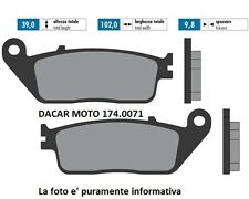 174.0071 PASTILLA DE FRENO ORIGINAL POLINI YAMAHA : X MAX 125 4V - X MAX 250