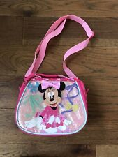 Disney Store Minnie Mouse Lunch Bag Excellent Condition Used Twice