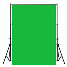 5X7Ft Solid Green Screen Photography Background Cloth Studio Backdrop Props
