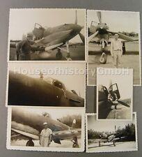 107884, 6 Fotos  US Jagdflugzeuge vom Typ P-39 Airacobra, Aircobra, Jäger, TOP