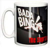 "Dirty Fingers Mug ""The Sopranos Bada Bing Strip Club"" TV series Fan Gift"