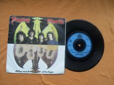 """Praying Mantis All Day And All Of The Night Arista Records Uk 7"""" Single in P/S"""